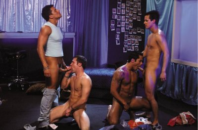 The Velvet Mafia 1, Falcon Studios, Roman Heart, Fox Ryder
